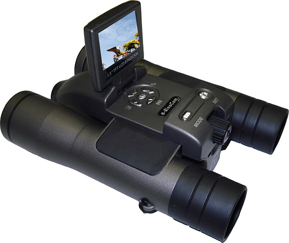 Secuvox™ 4.0 megapixels Digital Binocular Video Camera