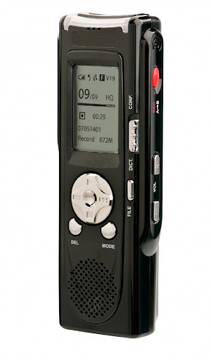 Secuvox™ Wireless Voice Recorder W/MP3 & FM Radio Player