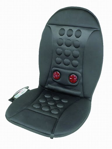 Pain Relief Heated Magnetic Therapy Massage Cushion