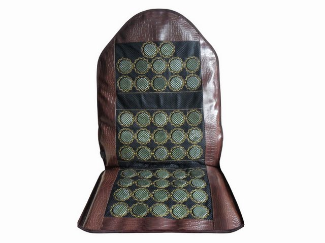 Carepeutic™ Jade Heat Therapy Massage Cushion