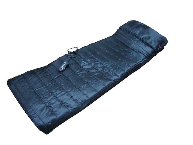 Carepeutic® Do-It-All Deluxe Vibration Massage Mat with Heat