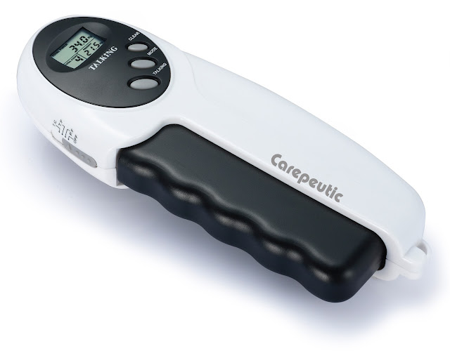 Carepeutic® Digital Talking Power Hand Grip Exerciser